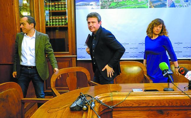 El alcalde cesa a Iridoy como concejal de Urbanismo alegando «falta de confianza en su gestión»