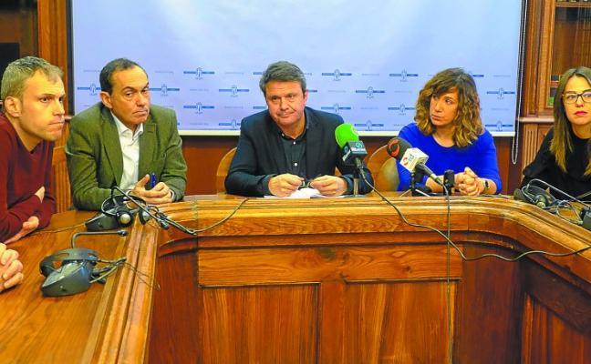 El cese del concejal jeltzale de Urbanismo quiebra el pacto de gobierno entre PSE y PNV en Irun