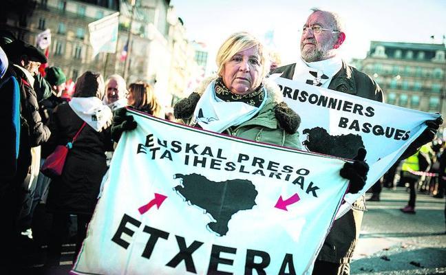 Solo 17 presos de ETA cumplen las condiciones que exige Francia para ser acercados a Euskadi