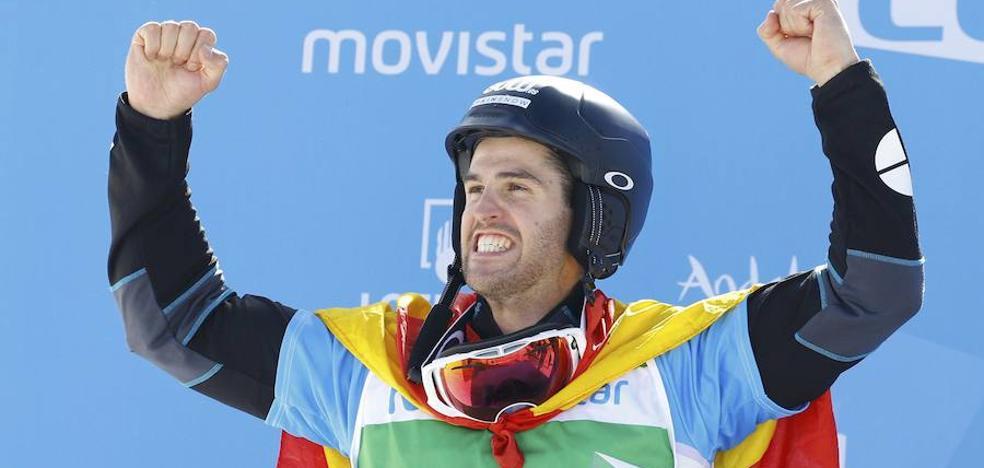 El donostiarra Lucas Eguibar, feliz por ser el abanderado en los Juegos Olímpicos de Invierno