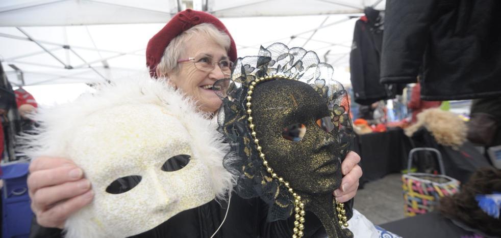Mercadillo especial de Carnaval en Donostia