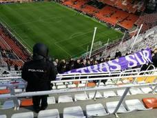 150 Ultras Sur estuvieron en Mestalla