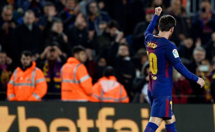 Los mejores momentos del Barcelona-Alavés, en imágenes