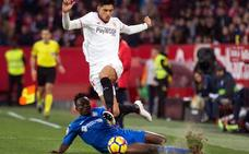 El Getafe arranca un empate en la prolongación y deja frío al Sevilla