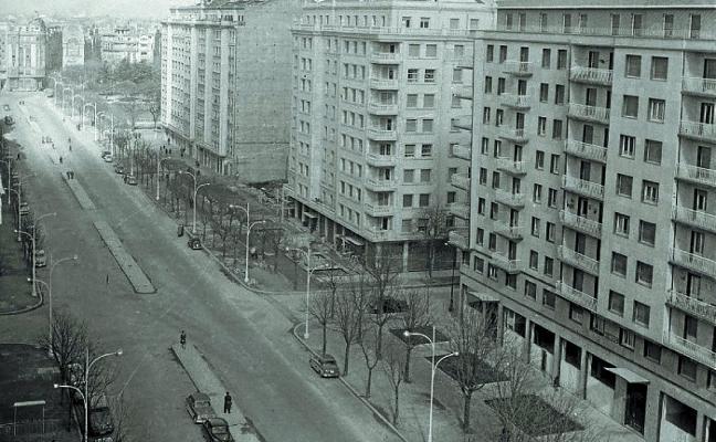1958. Mueren siete obreros en un derrumbe en Sancho el Sabio