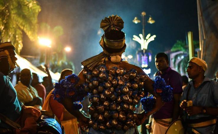Thaipusam, una ceremonia con autoflagelaciones «indoloras»