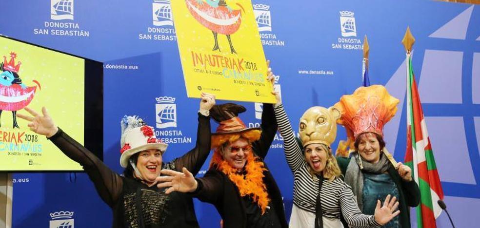 137 actividades calentarán el Carnaval donostiarra