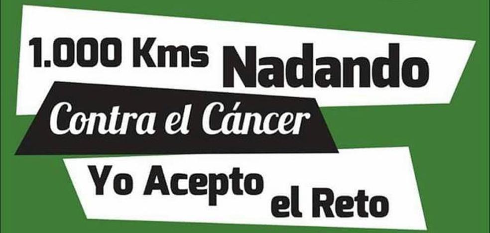 1.000 kilómetros nadando contra el cáncer