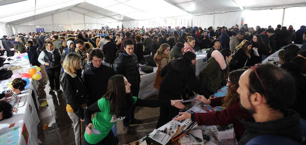 Ikasenpresa ha reunido en Eibar a cerca de 1.700 estudiantes de FP