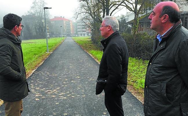 Inaugurado el paso peatonal alternativo