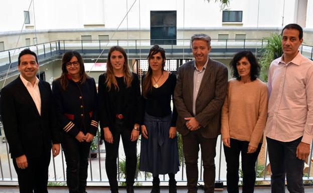 Los miembros del Espacio Interinstitucional de Participación Ciudadana de Gipuzkoa/DFG