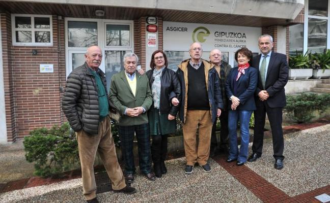 Nace Asgicer, una nueva asociación en la lucha contra el cáncer en Gipuzkoa