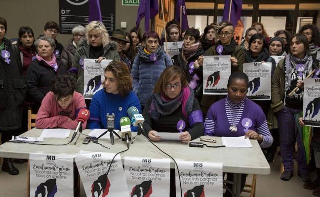 Llaman a una huelga feminista el 8 de marzo «en la esfera productiva, de los cuidados y el consumo»