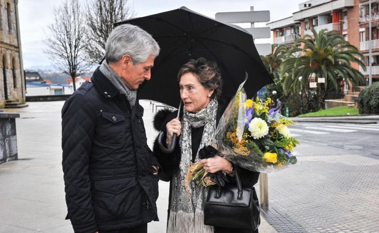 Homenaje a Fernando Múgica en Polloe