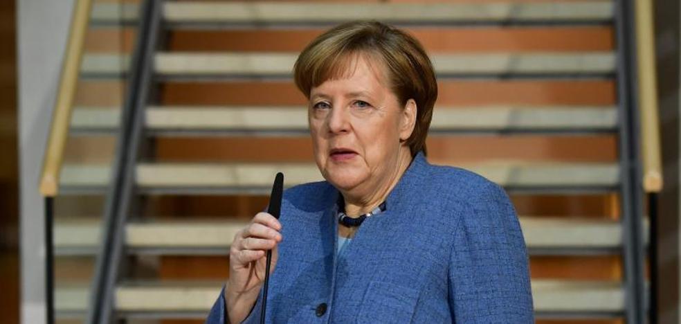 Merkel y los socialdemócratas seguirán con sus «difíciles» negociaciones durante los próximos días