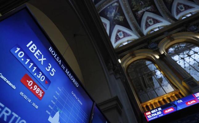 El Ibex-35 baja un 1,44% y casi borra las subidas del año