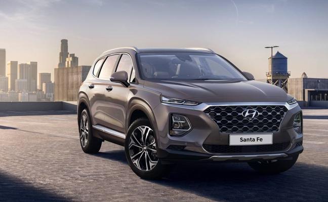 Primeras fotos del nuevo Hyundai Santa Fe