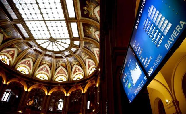 El Ibex-35 rebota hasta cerca de 10.000 con Europa y Wall Street