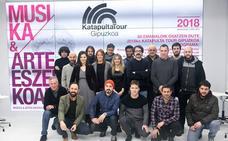 Katapulta Tour Gipuzkoa reunirá a una treintena de artistas en una decena de espacios