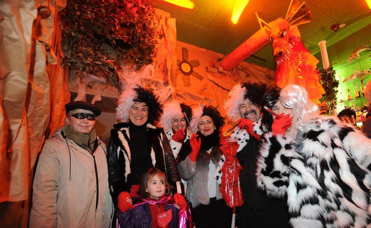 Eibar celebra su Jueves Gordo de Carnaval