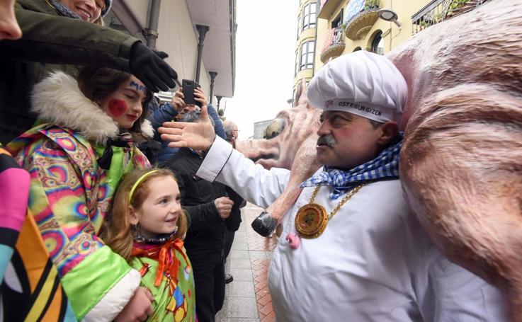 Tolosa ya es un carnaval
