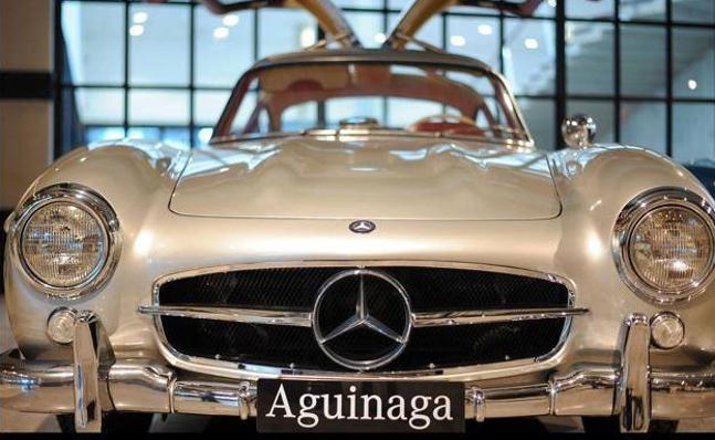 Un museo con treinta Mercedes clásicos le espera los sábados en Barakaldo
