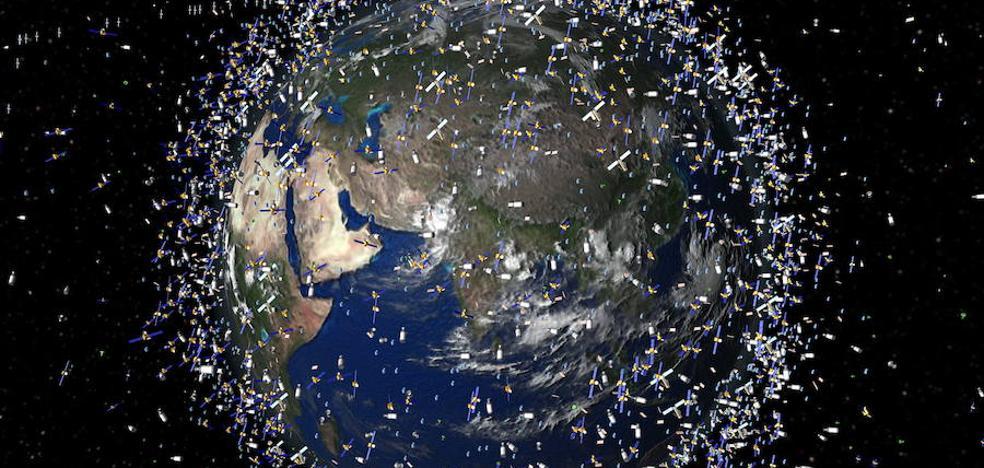 La basura espacial vuelve a crecer en 2017 y alcanza ya los 18.800 fragmentos en órbita