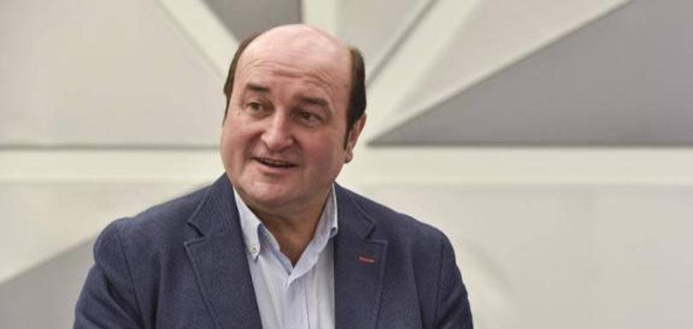Ortuzar asegura que la propuesta de nuevo estatus del PNV es «legal» y «no habla de ruptura»
