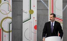 El Rey aboga por preparar mejor a los jóvenes para la «economía automatizada»