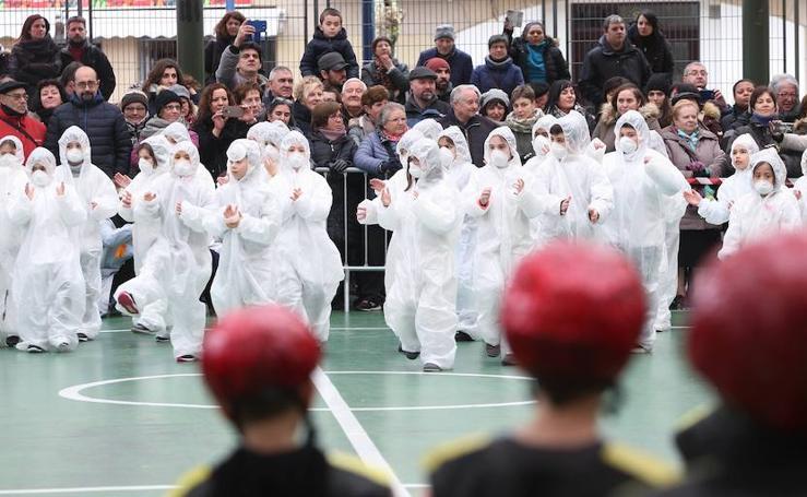 Viernes Flaco puso a 'trabajar' a los escolares de Errenteria