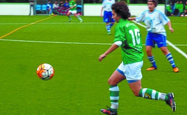 El Beti Gazte femenino encaja el gol de la derrota en el 94