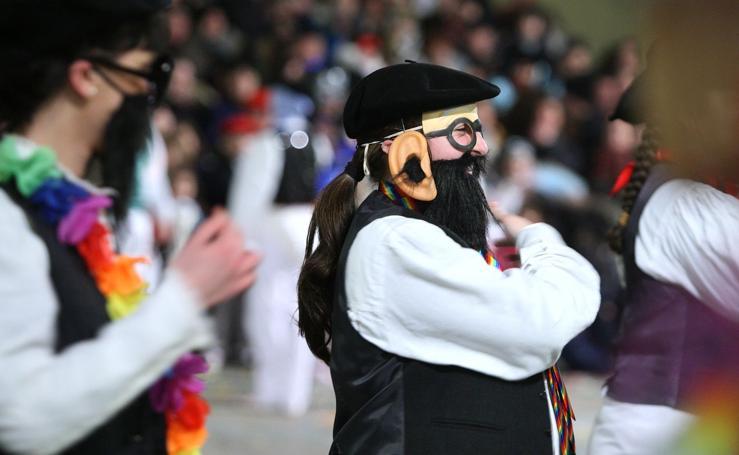 Comienza el Carnaval de oficios en Errenteria
