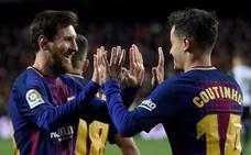 El Barça manda en España