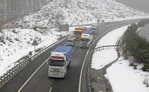 Se va la nieve y llega el aviso amarillo por lluvias persistentes en Gipuzkoa