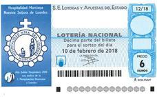 Parte del segundo premio de la Lotería Nacional, dotado con 120.000 euros, vendido en Donostia