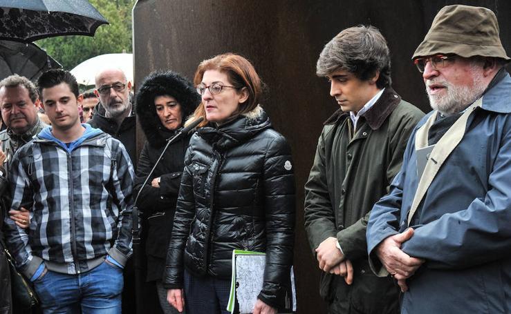 Homenaje a Joseba Pagazaurtundua en Andoain