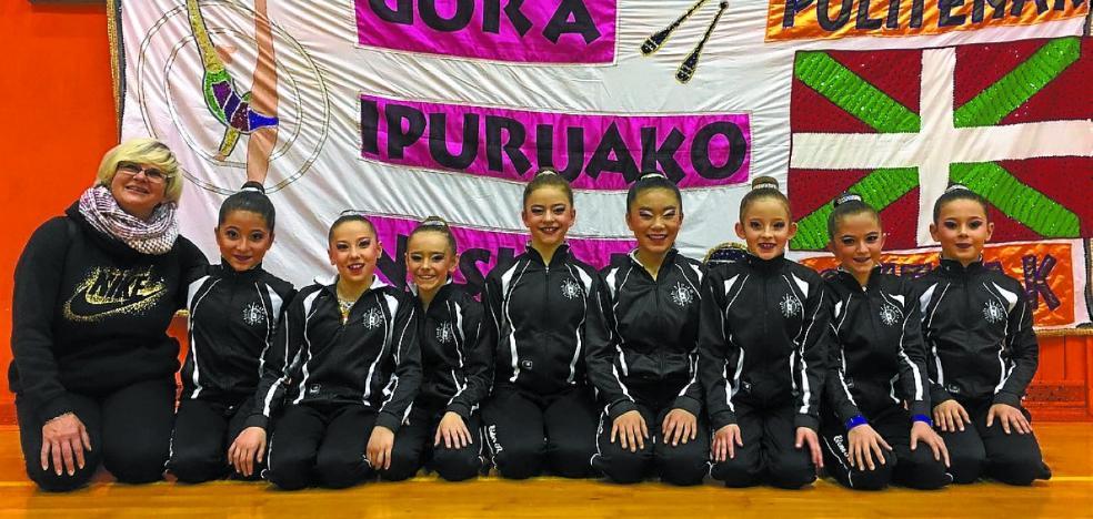 El club Ipurua destaca en la primera fase del amateur y escolar A de Gipuzkoa