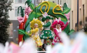 El Carnaval vence a la lluvia en Errenteria
