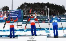 Imanol Rojo, el primer español en competir, acaba 49 en el skiatlón