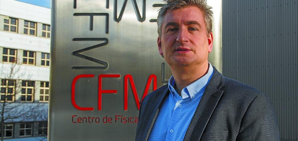 Javier Aizpurua: «Hemos colocado Donostia en el mapa de la ciencia y es un destino atractivo para los jóvenes»