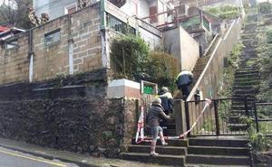 Los vecinos desalojados de Trintxerpe vuelven a sus casas al descartarse el riesgo de derrumbe