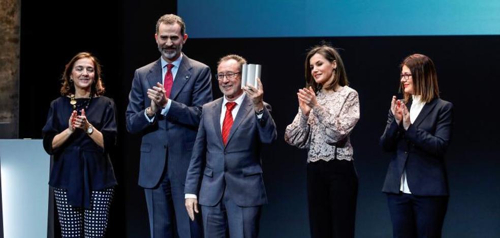 Felipe VI: «Un país que no innova se condena a ir siempre a remolque»