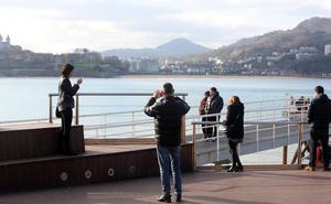 Tregua invernal en Euskadi: una masa de aire cálido elevará el viernes la temperatura hasta los 20ºC