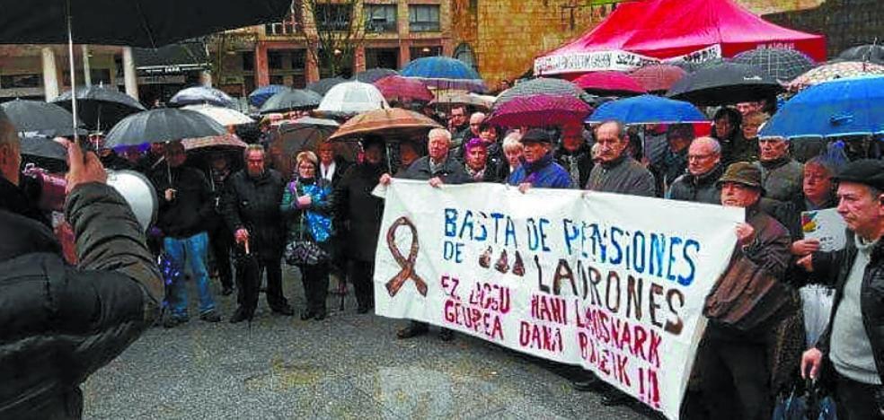 Los pensionistas montarán una plataforma para sacar adelante sus reivindicaciones