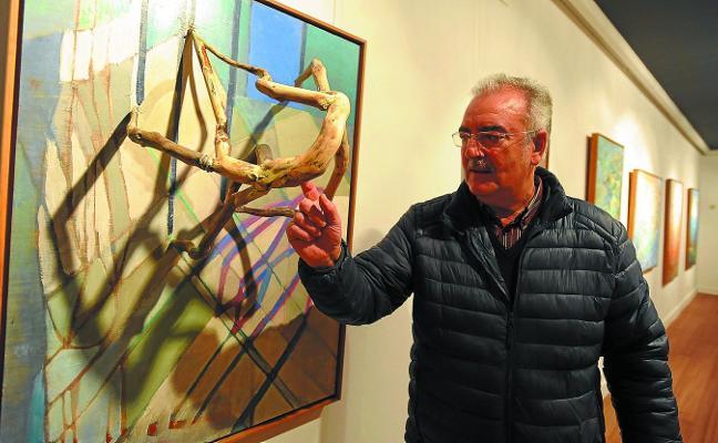 Vicente Iriondo: «Los cuadros y yo estamos en marcha, en una ruta previamente determinada»