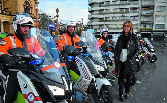 Seis nuevas motos eléctricas para el departamento de Movilidad