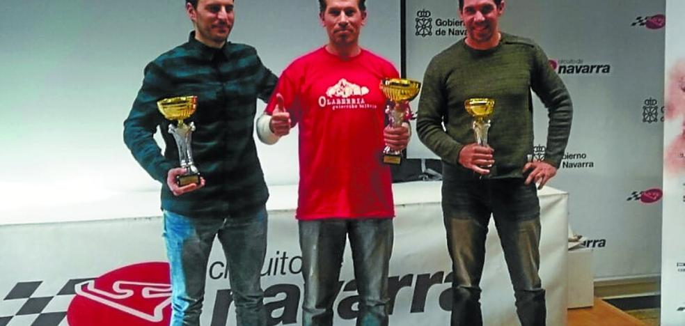 Tello Rodríguez recibe el primer premio del Campeonato Navarro