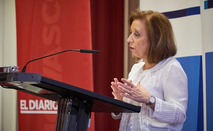Ponencia de Marisa Poncela sobre 'Internacionalización y apertura de la economía vasca'