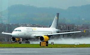 El tráfico de pasajeros en el aeropuerto de Hondarribia crece un 12,9% en enero