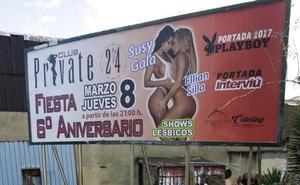 Denuncian el cartel de un show lésbico para el Día de la Mujer en un club de Asturias